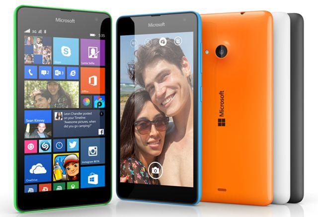 Microsoft Gulirkan Update Windows 10 Mobile Untuk Lumia 535 di Timur Tengah
