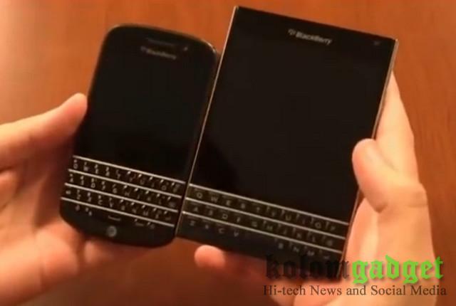 Harga Blackberry Passport dan Classic Dipangkas