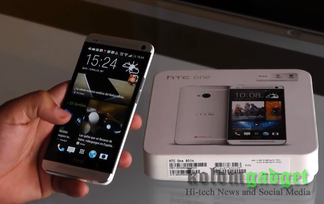 HTC One (M7) Dual SIM Dapatkan Android 5.0 Lollipop