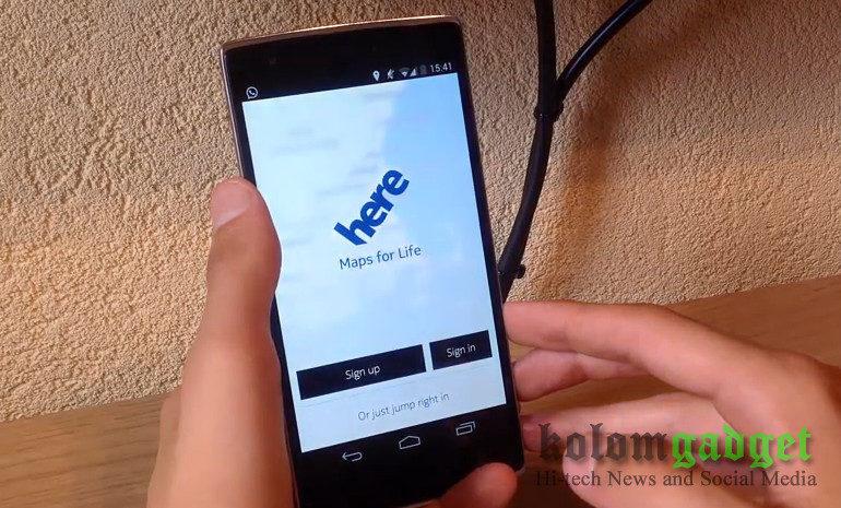 Nokia Berencana Jual Here Maps, Tapi…
