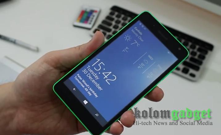 Microsoft Lumia 535 Mulai Dipasarkan di Amerika Serikat Seharga USD 149