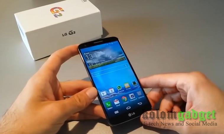 LG G2 di India Mulai Terima Pembaruan Android Lollipop