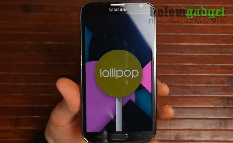 Hore..! Samsung Galaxy Note 2 Ternyata Dapatkan Android Lollipop