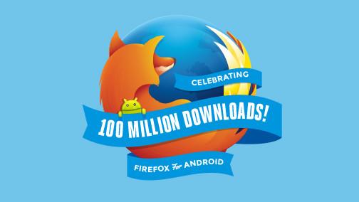 Mozilla Rayakan 100 Juta Unduhan Firefox Untuk Android
