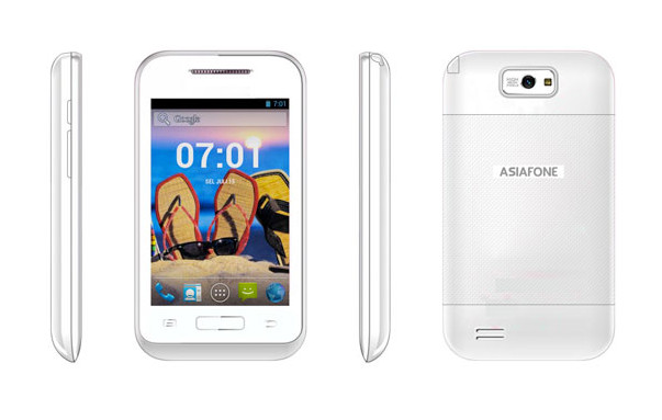 Asiafone Asiadroid AF77 Bawa TV Analog dan Andalkan Prosesor Dual-core