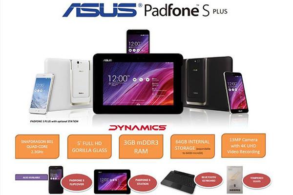 Asus PadFone S Plus Meluncur Besok di Malaysia, Harga Rp 3,9 Juta