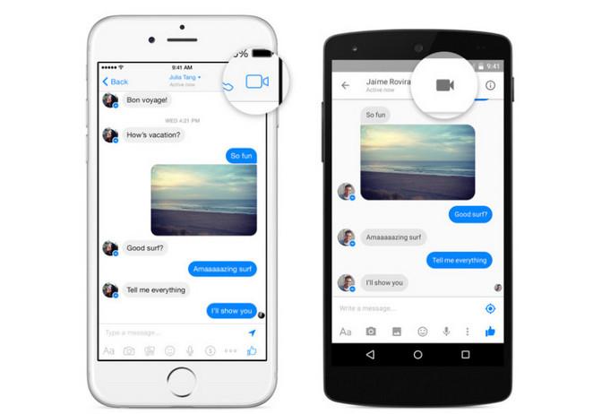 Fitur Video Call di Facebook Messenger Diluncurkan Untuk Android dan iOS