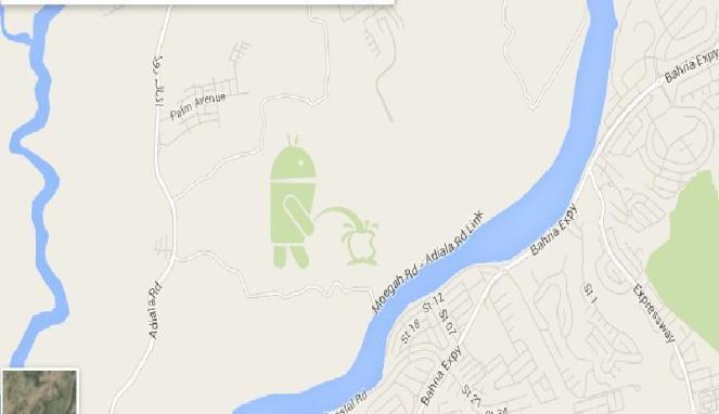 Google Minta Maaf Karena Android Telah Kencingi Apple