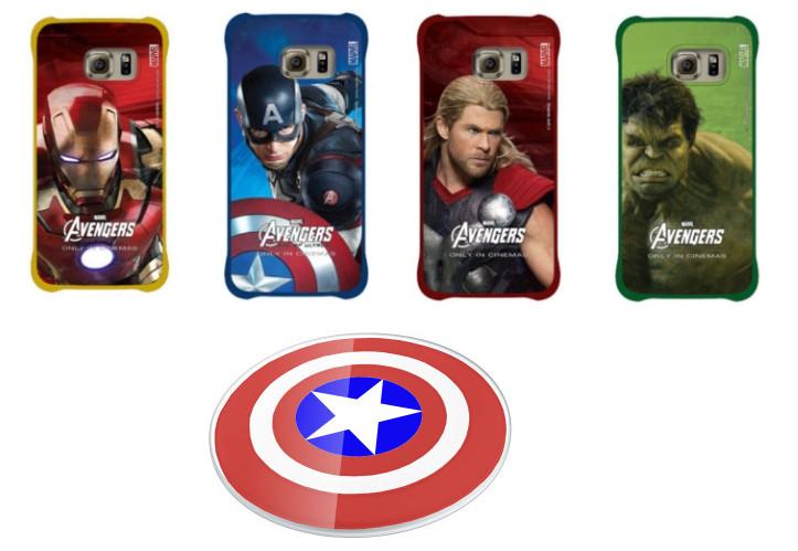 Aksesoris Samsung Galaxy S6 Resmi Bertema Avengers Kini Tersedia
