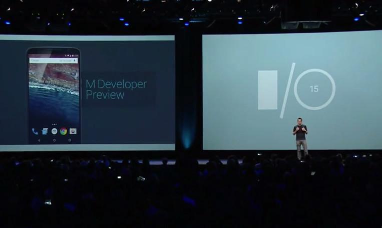 Google Resmikan Android M di Google I/O 2015