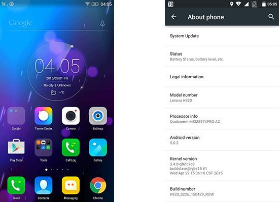 Lenovo Vibe Z2 Cicipi Manisnya Android Lollipop di India