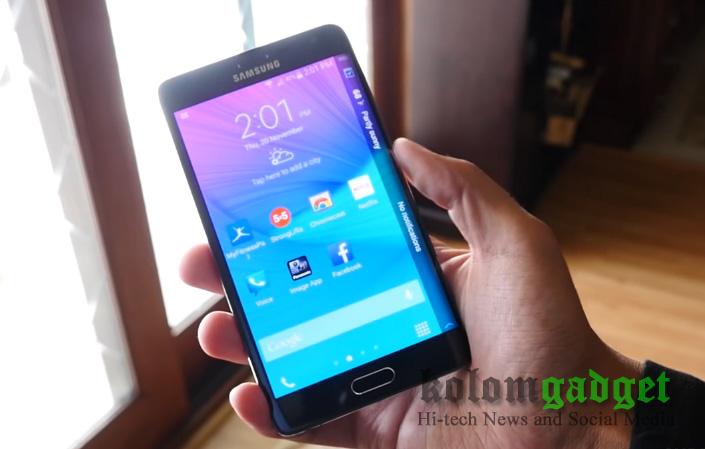 Sebelum Galaxy Note Edge 2, Samsung Garap Ponsel Model Edge lainnya?