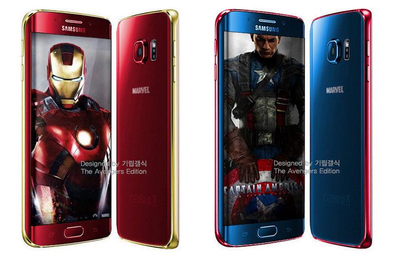 Samsung Galaxy S6 dan S6 Edge Berzirah Armor Iron Man Segera Dirilis