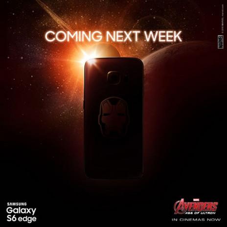 Tema Iron Man - Samsung Galaxy S6 Edge