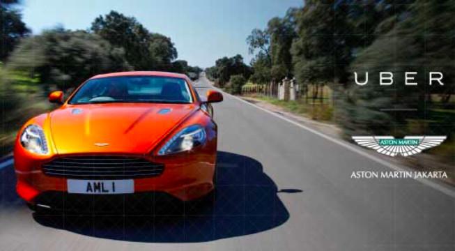 Bermimpi Naik Super Car Aston Martin? Coba Saja UberSuperCar Dari Uber