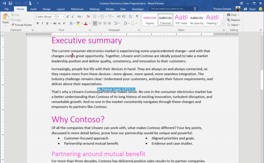 Office 2016 Bakal Miliki Fitur Co-editing Seperti Google Docs