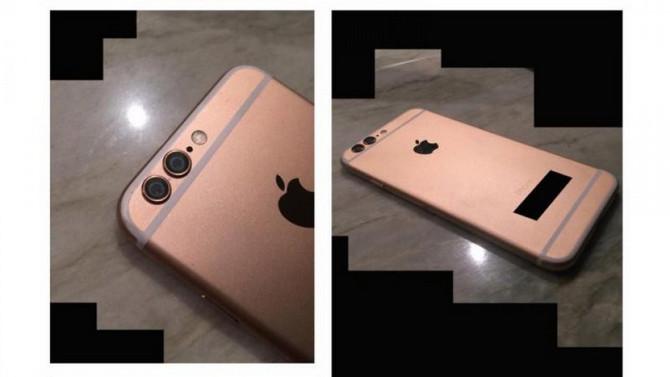 Ponsel Dalam Foto Ini Diduga iPhone 6s Berfitur Dual-Lens