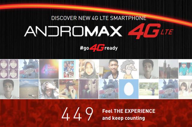 5 Ponsel Smartfren Andromax 4G LTE Telah Dirilis