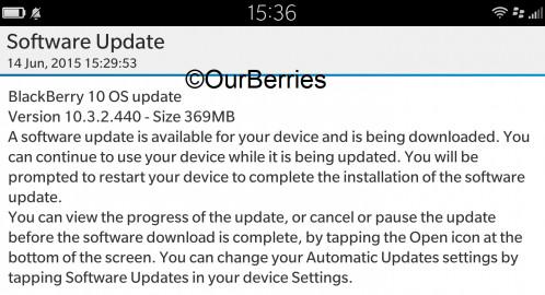 BlackBerry 10.3.2 Mulai Digulirkan