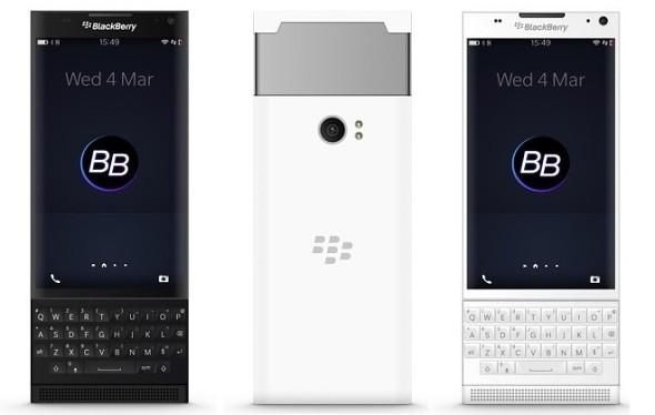 BlackBerry Venice Dikabarkan Hadir Bulan November Bawa Snapdragon 808