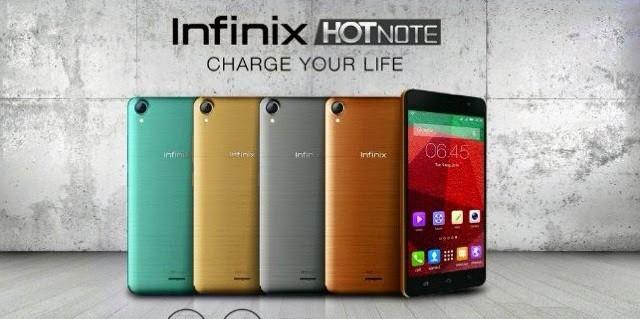 Infinix Hot Note X551, Ponsel Hong Kong Masuk Pasar Indonesia