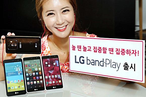 LG Band Play Diluncurkan, Smartphone Mid-Range Untuk Pecinta Musik