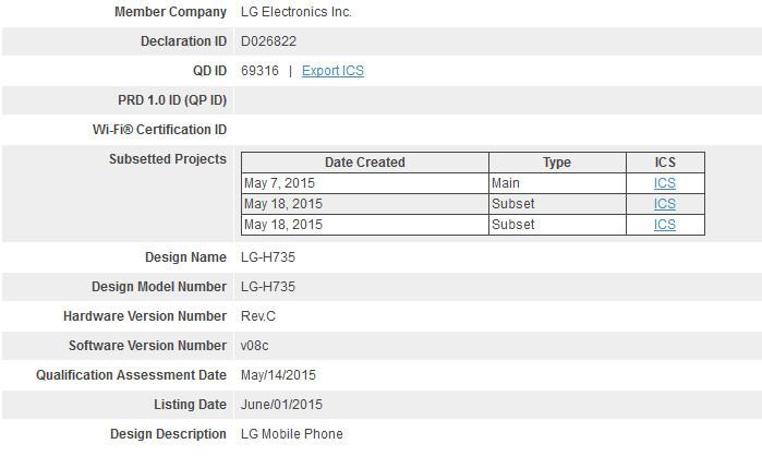Ponsel Baru LG Sudah Dapatkan Sertifikasi Bluetooth