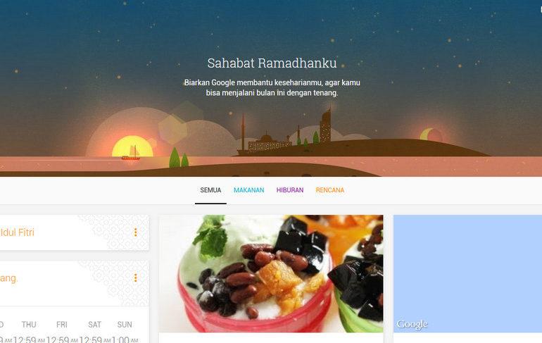 My Ramadan Companion, Situs Pendamping Ramadhan Dari Google Diluncurkan