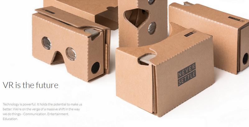 OnePlus Cardboard OnePlus 2