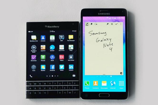 Samsung dan Blackberry Akan Bermitra Buat Smartphone Android