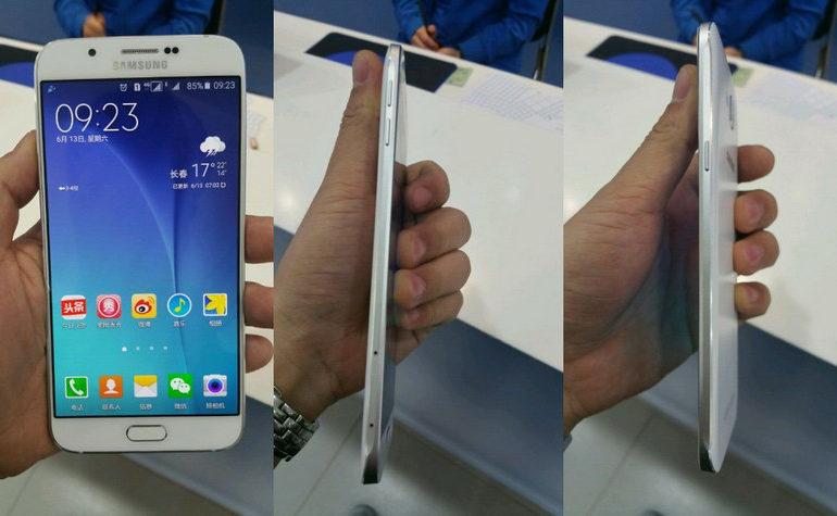 Samsung Galaxy A8 Muncul Dalam Sekumpulan Gambar, Bawa Layar 5,7 Inci