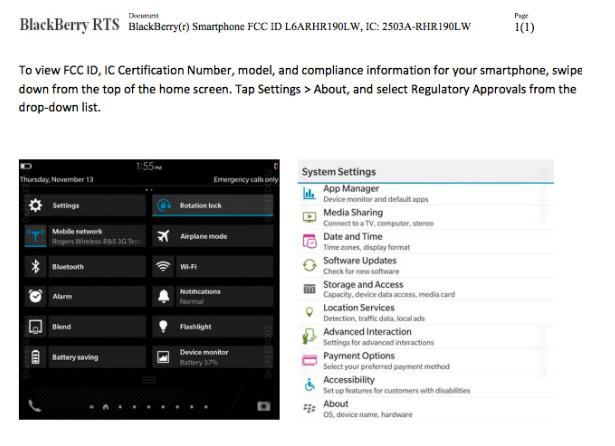 BlackBerry Dallas Sudah Disertifikasi FCC