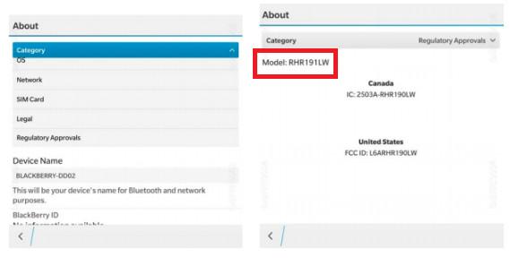 BlackBerry Dallas Sudah Disertifikasi FCC 2