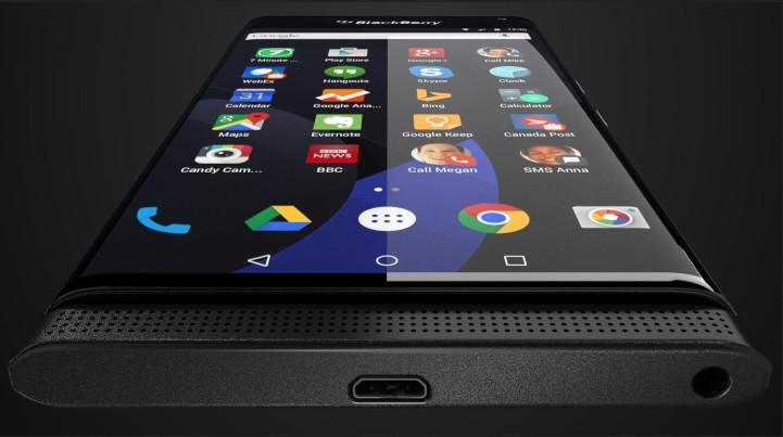 Blackberry Venice Dengan Layar Lengkung dan Android Lollipop Merender
