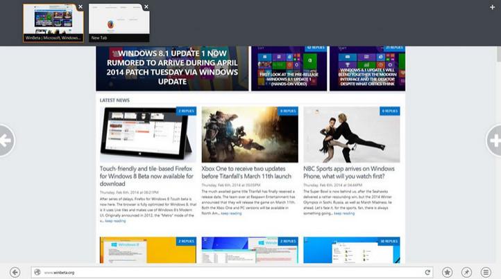 Firefox Bercita Rasa Windows 10 Dipersiapkan