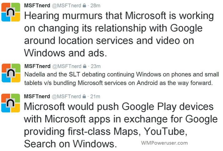 Rumor: Menyerah Dengan Windows Phone, Microsoft Bakal Pakai Android Untuk Ponselnya