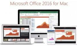 Microsoft Resmi Bawa Office 2016 ke Mac