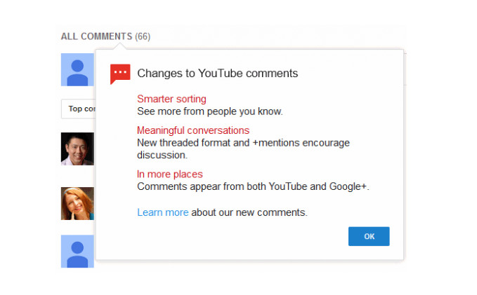 Pakai Youtube Kini Bebas Google+