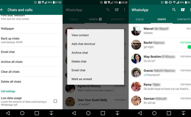 Panggilan Suara WhatsApp Kini Lebih Hemat Data