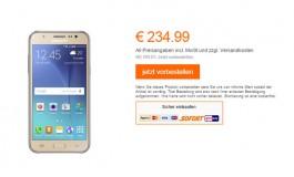 Samsung Galaxy J5 Tiba di Jerman Dengan Lampu Flash Mendampingi Kamera Depan