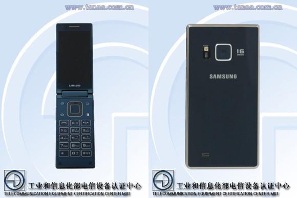 Samsung SM-G9198, Ponsel Clamshell Jadul Muncul Kembali