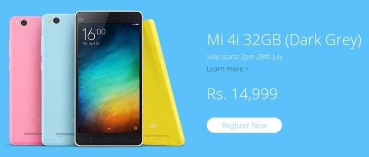 Xiaomi Mi 4i Kini Tersedia Varian 32GB Seharga Rp 3,1 Juta