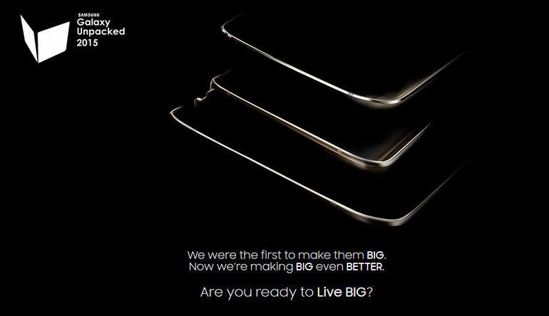 Ada 3 Perangkat Termasuk Samsung Galaxy S6 Edge+ & Galaxy Note 5 di Teaser Samsung Galaxy Unpacked 2015