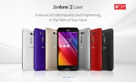 Asus Zenfone 2 Laser (ZE500KL), Versi <em>Upgrade</em> Zenfone 2 ZE500CL Diluncurkan
