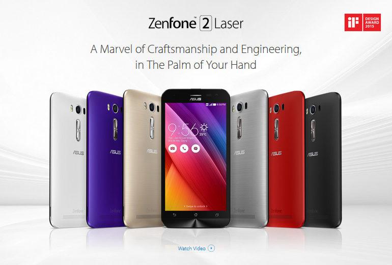 Asus Zenfone 2 Laser (ZE500KL), Versi Upgrade Zenfone 2 ZE500CL Diluncurkan