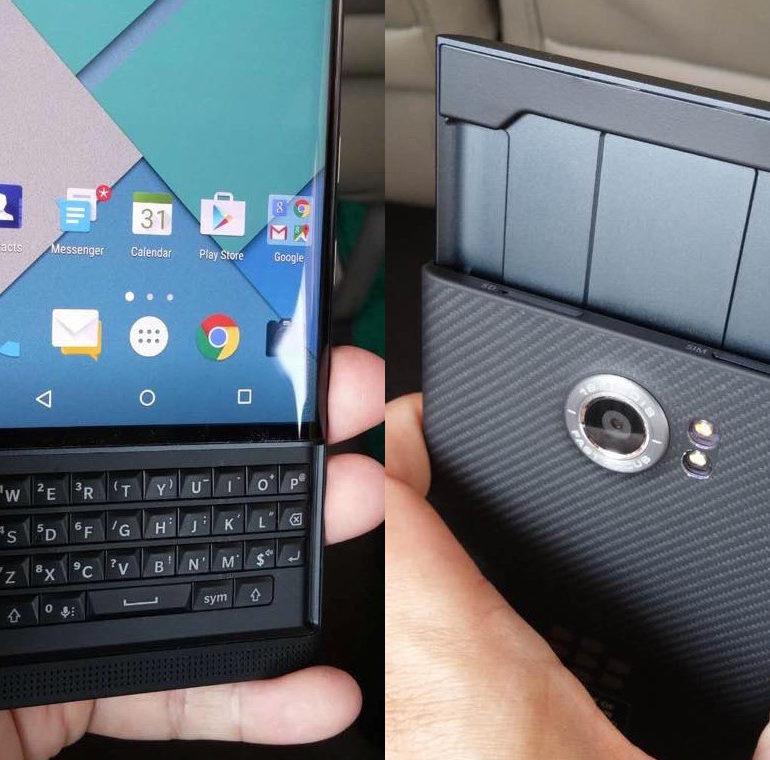Bukan Blackberry Venice, Tapi Blackberry Priv
