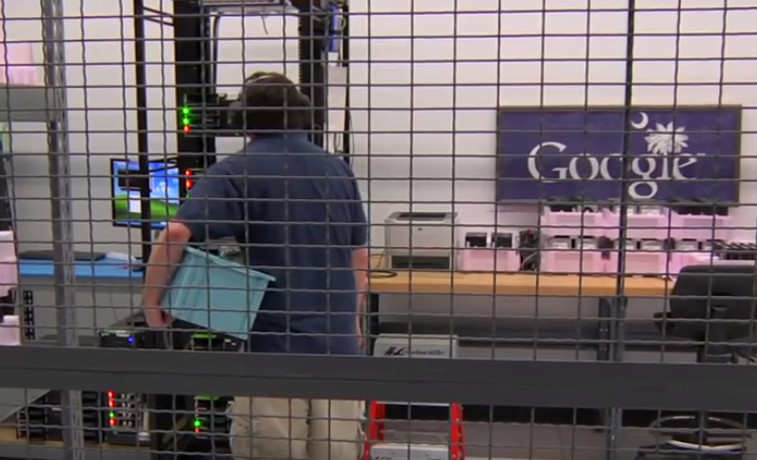 Petir Datang, Data Google Menghilang