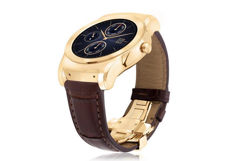 Dilapis Emas 23 Karat, LG Watch Urbane Luxe Dibanderol Rp 16 Jutaan