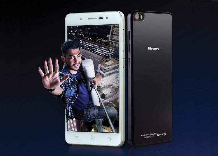 Hisense Pure Shot Jadi Smartphone Pertama Smartfren Selain Andromax