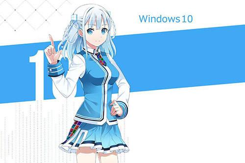 Inilah Touko Madobe, Karakter Anime 'Kawaii' yang Jadi Maskot Windows 10 di Jepang